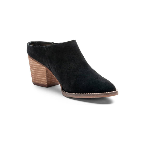 BLONDO Norwich Women | Black Suede (B6554)