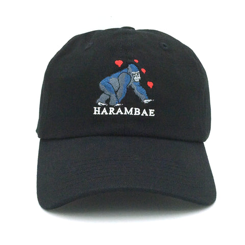 ANY MEMES Harambae Dad Hat | Black (P-41927)