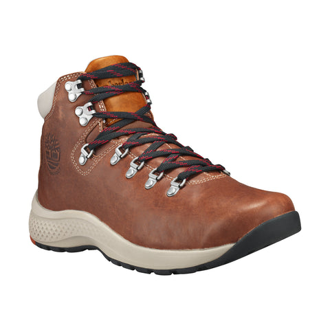 TIMBERLAND Flyroam Trail Mid Leather Waterproof Men | Brown / Saddle Tan (A1RMAD36)