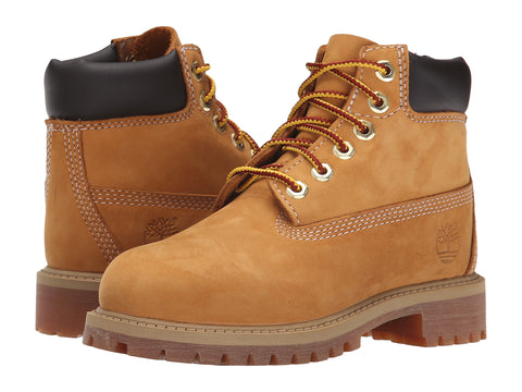 TIMBERLAND Classic 6-inch Youth/Kids | Wheat Nubuck (10960/10760)
