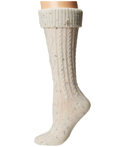UGG Shaye Tall Rain Boot Socks Women | Cream (1016228)