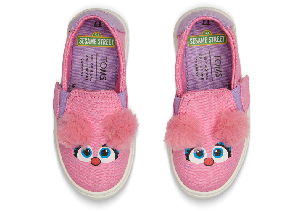TOMS Sesame Street X Abby Face Tiny | Pink (10013635)