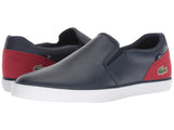 LACOSTE Jouer Slip 318 2 Men | Navy / Red (7-36CAM0038144)