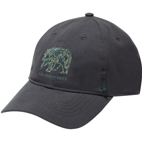 THE NORTH FACE Canvas Work Ball Cap | Asphalt Grey / Smoke Pine (CF8E)
