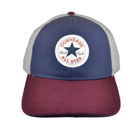 CONVERSE Core Colorblock Cap | Athletic Navy / Dark Sangria (CON002)