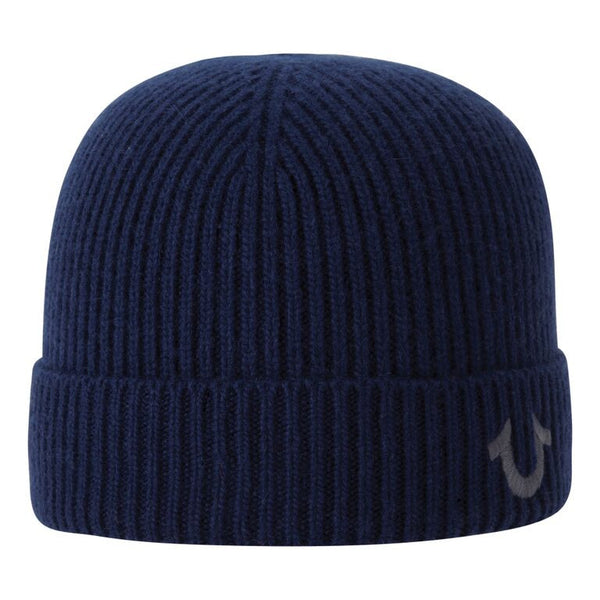 TRUE RELIGION Ribbed Knit Watchcap | Navy (TR1828)