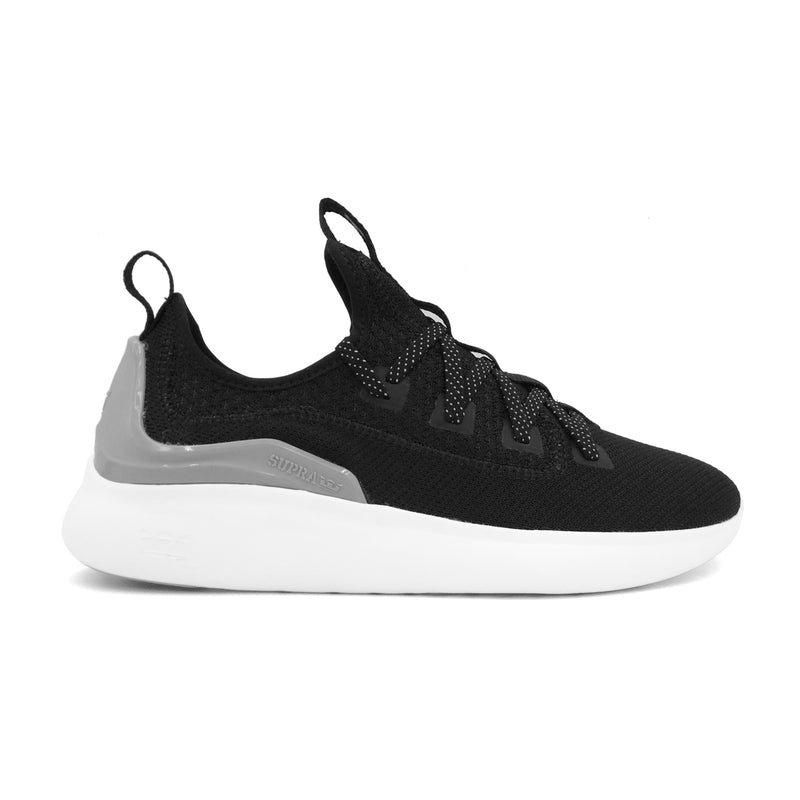 SUPRA Factor Men | Black / Light Grey / White (05895-071-M)