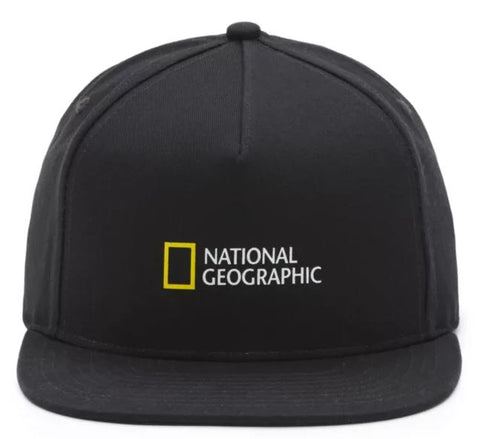 VANS National Geographic Snapback | Men (VN0A4MP6BLK)