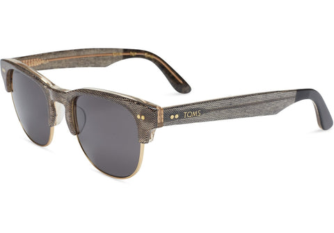 TOMS Lobamba Sunglasses | Grey Denim / Smoke Grey (10005982)