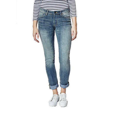 DISH & DU/ER L2X Straight & Narrow Fit Jeans Women | Dirty Wash