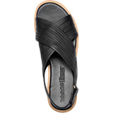 TIMBERLAND Adley Shore Cross Band Sandal Women | Black (TB0A1VMN015)