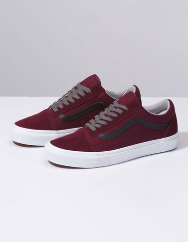 VANS Jersey Lace Old Skool Men | Port Royale/Black (VN0A38G1UP7)