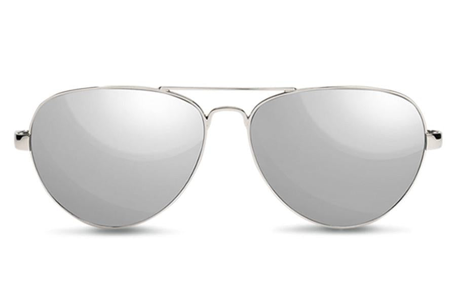 TOMS Maverick 201 Sunglasses | Shiny Silver / Blonde Tortoise (10003452)