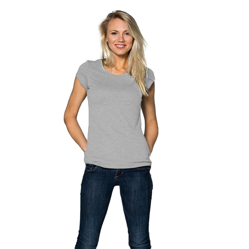 THREAD SOCIETY Ladies Favorite Tee Women | Heather Grey