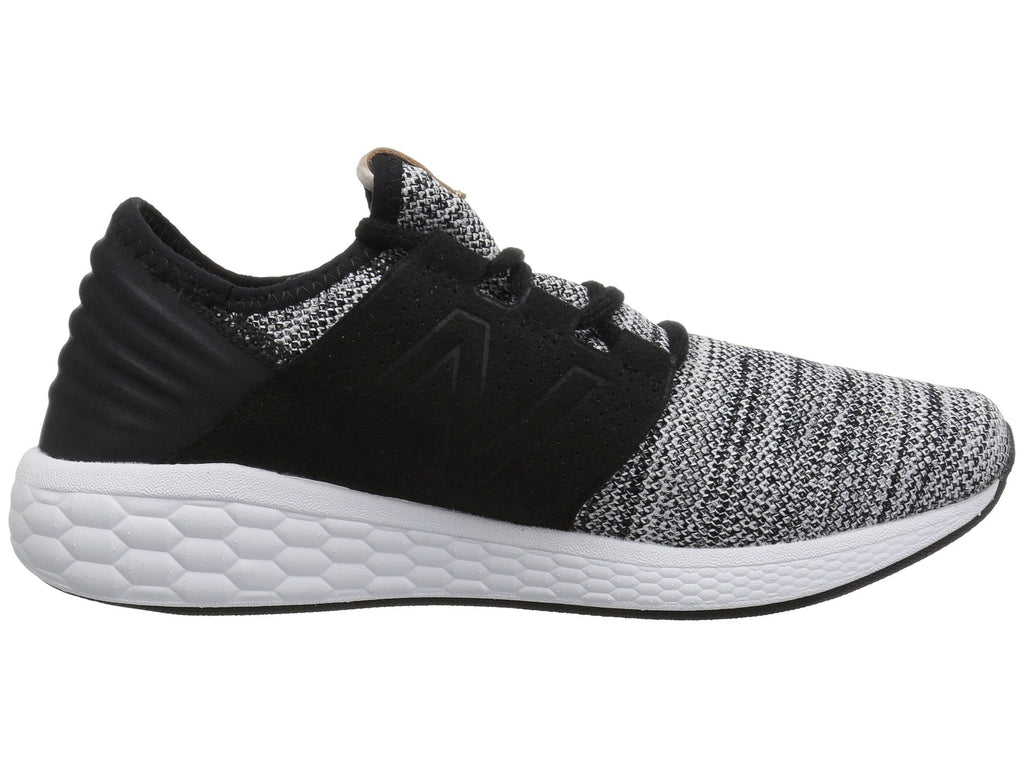 NEW BALANCE Fresh Foam Cruz V2 Knit Men | White / Black (MCRUZKW2)