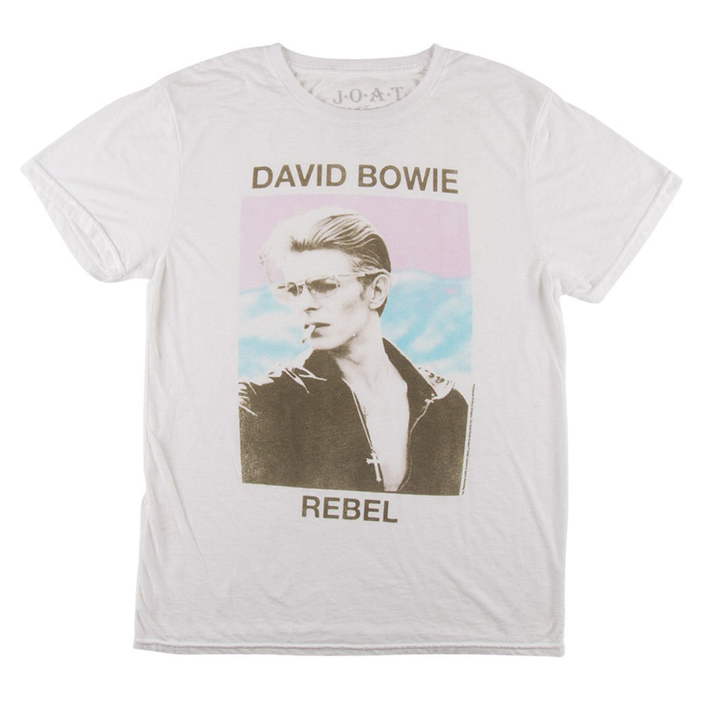 JACK OF ALL TRADES David Bowie Rebel T-Shirt Men | White (DB1031-T1079DDC)