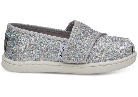 TOMS Silver Iridescent Glimmer Tiny | Silver (10011457)