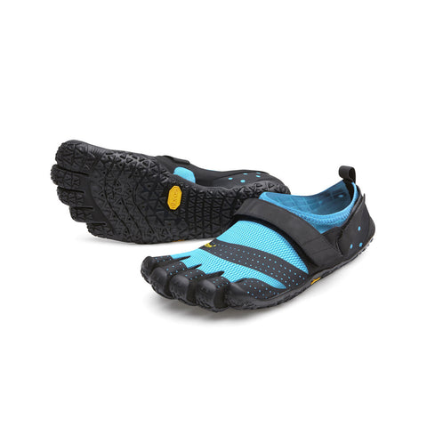 VIBRAM V-Aqua Women | Black/Light Blue (19W7301)