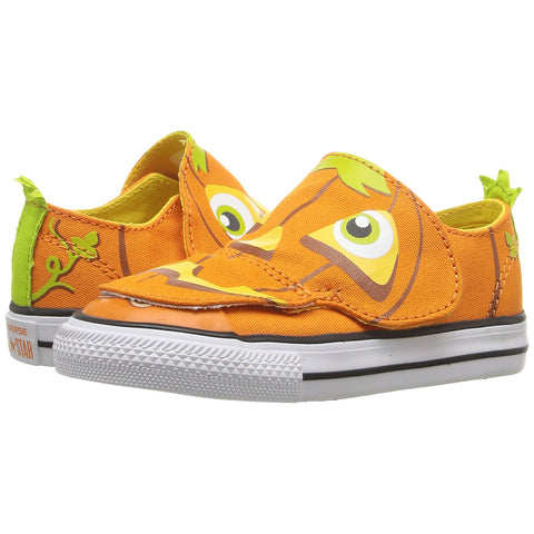 CONVERSE Chuck Taylor Creatures Ox Toddler/Infant | Vivid Orange / Yellow / White (754413F)