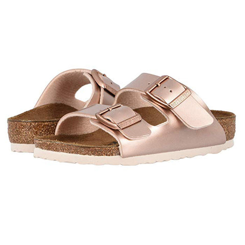 BIRKENSTOCK Arizona Kids | Electric Metallic Copper (1012478)