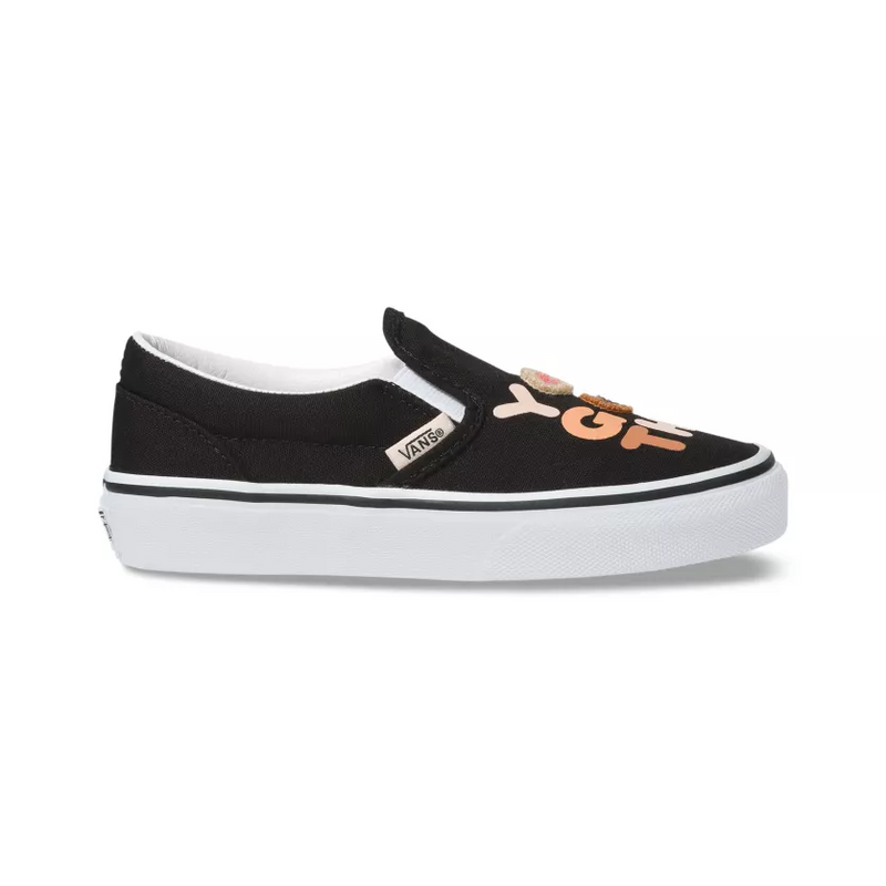 VANS Breast Cancer Awarness Slip-On Unisex | True White (VN0A4BV3T4U)