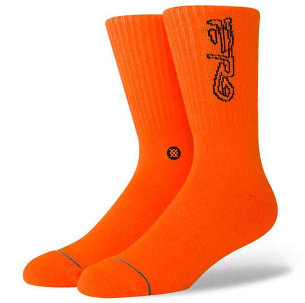 STANCE A$AP Ferg Men | Neon Orange (M556D19AFE)