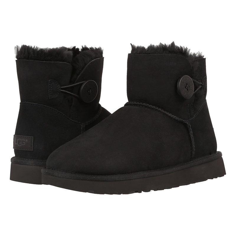 UGG Mini Bailey Button II Women | Black (1016422)