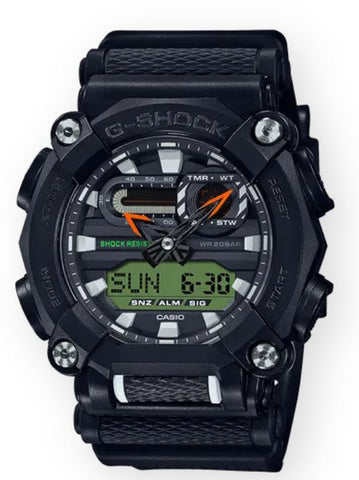 G-SHOCK GA900E-1A3 Men | Black/Green