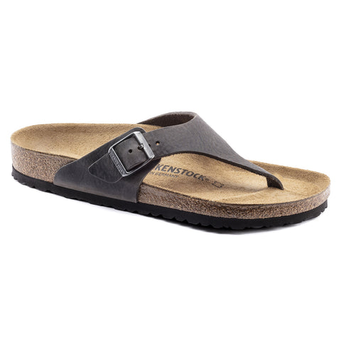 BIRKENSTOCK Como Leather Men | Camberra Iron (1016828)