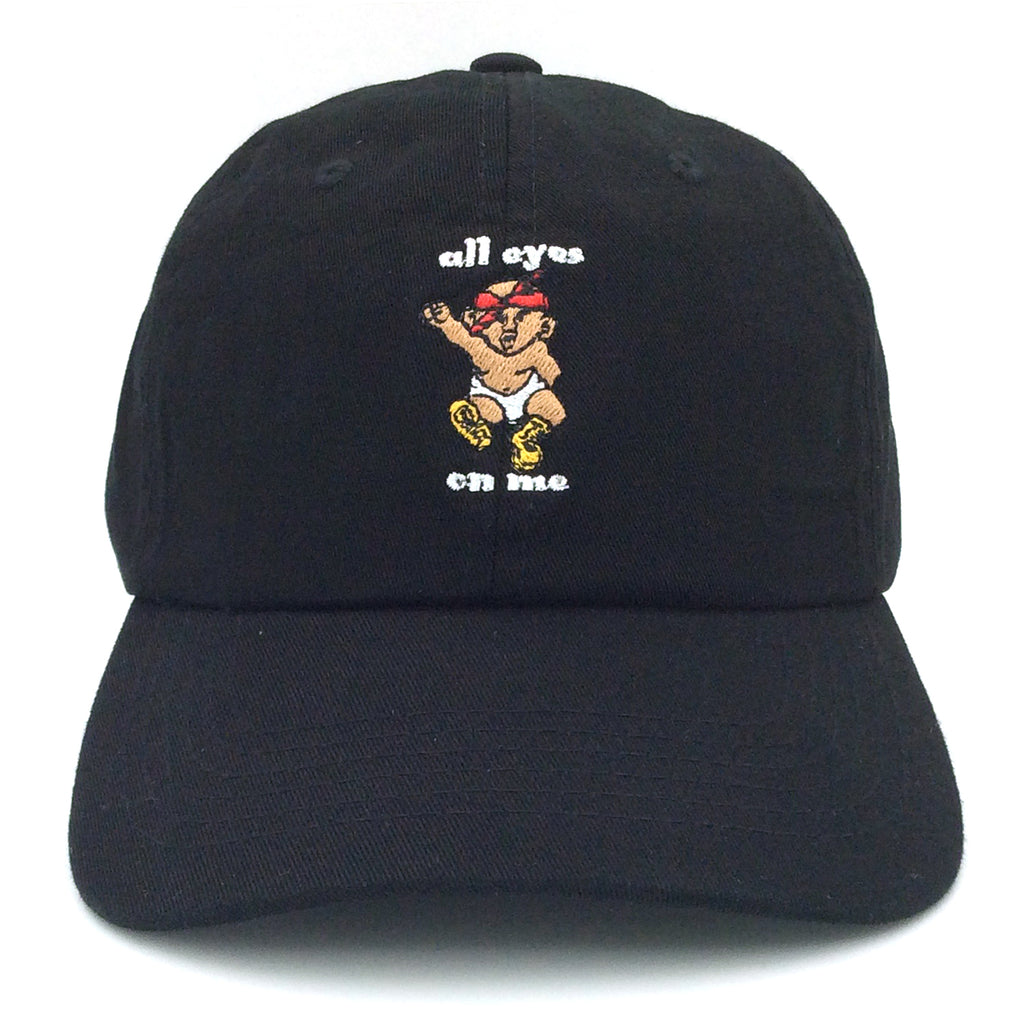 ANY MEMES All Eyes On Me Dad Hat | Black (P-41473)