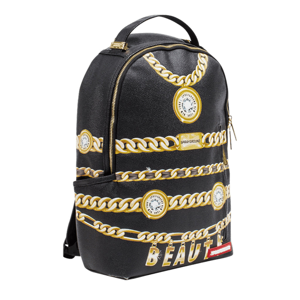 SPRAYGROUND Beauty Chains Backpack | Black (B1755)