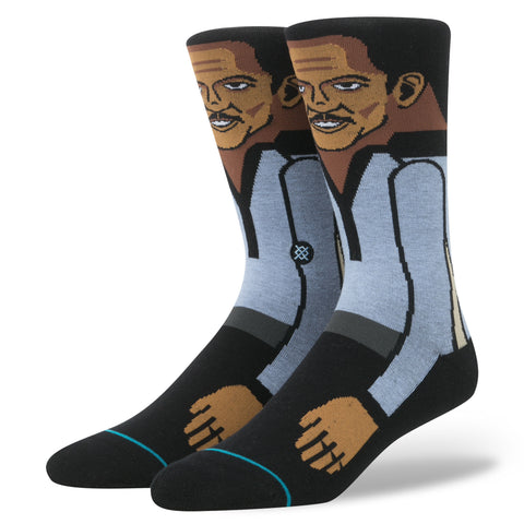 STANCE Lando Socks Men | Blue (M545D16LAN) (Large)