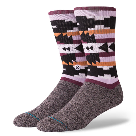 STANCE Lyonz Socks Men | Black (M556C18LYO) (Large)