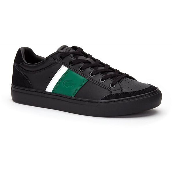 LACOSTE Courtline 319 1 US Men | Black/Green (7-CMA00741B4)
