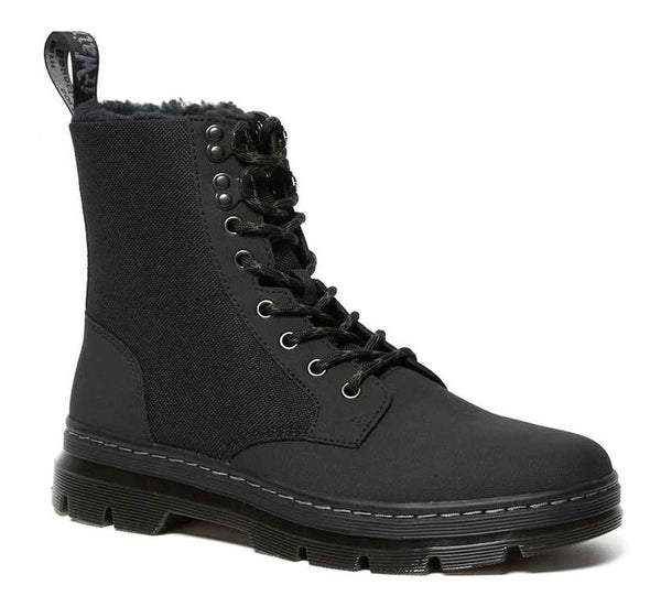 DR.MARTENS Combs II Fleece Lined Unisex | Black (26019001)