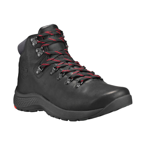 TIMBERLAND Flyroam Trail Mid Leather Waterproof Men | Black (A1RK8015)