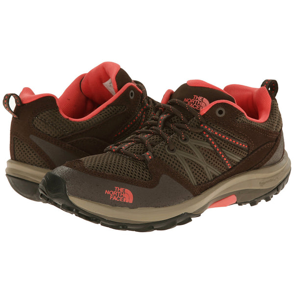 THE NORTH FACE Storm Fastpack Women | Weimaraner Brown / Fiesta Red (CCG0)