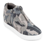 BLONDO Glenda Women | Grey Suede Camo (B3501)