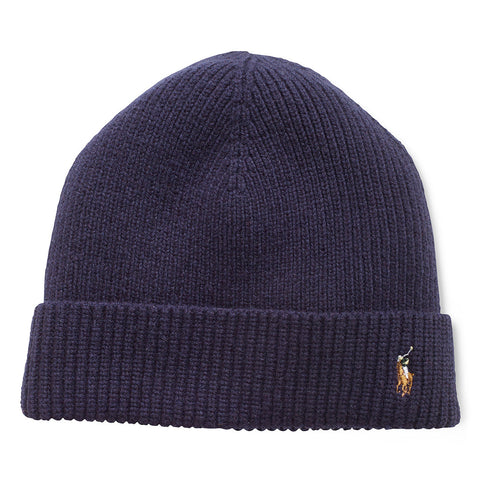 POLO RALPH LAUREN Signature Marino Cuff Hat | Hunter Navy (23765096)