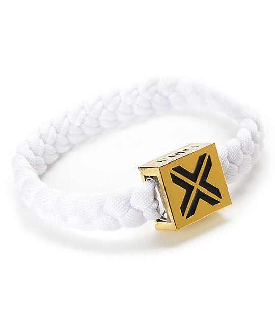 ELECTRIC FAMILY Electric White on Gold Bracelet | White/Gold