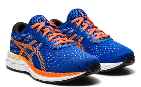 ASICS Gel-Excite 7 Kids | Blue/Shocking Orange (1014A116)