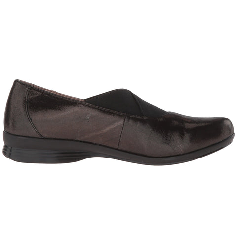 DANSKO Ann Women | Black Metallic Suede (6702500202)
