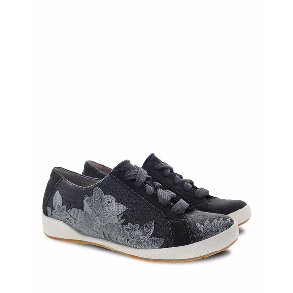 DANSKO Olisa Women | Black Printed Canvas (0100310)