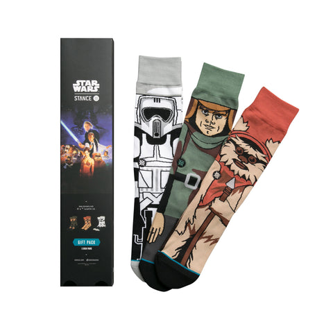 STANCE Return Of The Jedi Sock Gift Set Men | Black (M545D16RET)