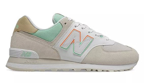 NEW BALANCE 574 Spilt Sail Men | Moonbeam/Neo Mint (ML574SCE)
