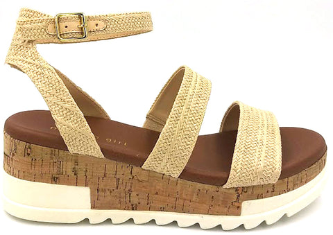 MADDEN GIRL Ellinore Women | Nat Raffia