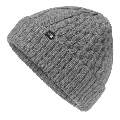 THE NORTH FACE Lambswool Beanie | TNF Medium Grey Heather (NF0A3548)