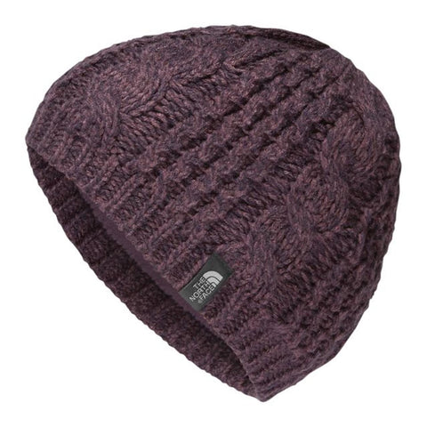 THE NORTH FACE Cable Minna Beanie Women | Black Plum (NF0A358A)