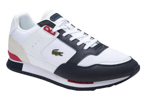LACOSTE Partner Piste 120 1 SMA Men | White/Navy