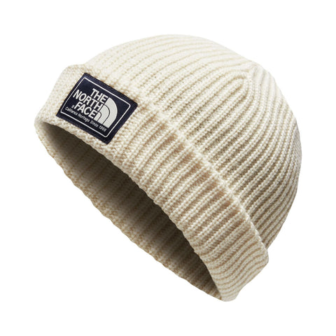 THE NORTH FACE Salty Dog Beanie | Vintage White / Peyote Beige (NF0A3FJW)